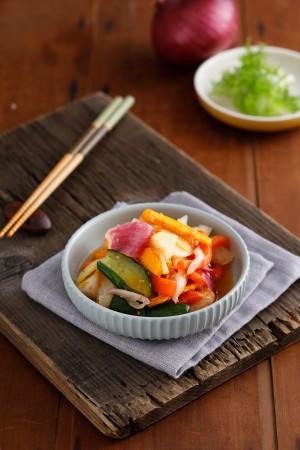 五蔬果梅子泡菜 - 600g  罐裝